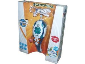Discovery Kids Talking Scanopedia Animal Scanner Interactive Map & Bengal Tiger