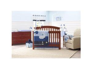 Nautica Kids Brody Nursery Bedding Collection (4-Piece Comforter Set)