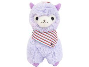 """Llama Sailor Alpaca 12"""" Prime Plush (Purple)"""