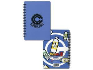 Dragon Ball Z Capsule Corp Notebook