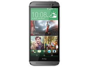 "HTC One M8 / Gunmetal Gray 5"" Touch Screen Dual 4.0 Ultrapixel Camera Unlocked GSM Mobile Phone"