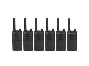 Motorola RMU2040 (6 Pack) Two Way Radio - Walkie Talkie 20 Floor Indoor Range