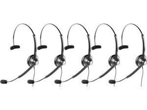 Jabra BIZ 1900 QD Mono Corded Headset w/ Noise Canceling Microphone (5 Pack)