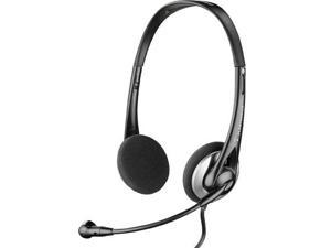 Plantronics 80933-01 Audio 326 Stereo Corded Headset Convenient In-Line Controls