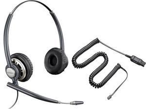 Plantronics EncorePro HW301N Stereo Corded Headset W/ A10 Adaptor New