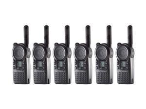 Motorola CLS1110 (6 Pack) Professional 2-Way Radio / 2 Mile Range