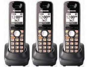 Panasonic KX-TGA651B (3-Pack) DECT 6.0 KX-TG6500 Series Additional Cordless Handset