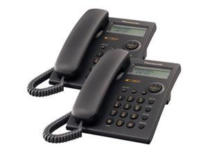 Panasonic KX-TSC11B Wall Mountable Corded Telephone With Caller ID