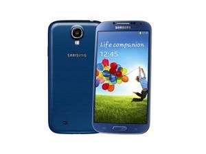 Samsung Galaxy S4 GT-i9500 Blue (International Model) Unlocked GSM Mobile Phone