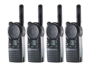 Motorola CLS1410 (4 Pack) 2-Way Radio / 5 Mile Range