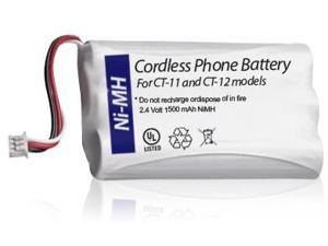 Replacement Battery BATT-63421-01/ CPH-488Q3 Works With Plantronics Models CT-11 & CT-12