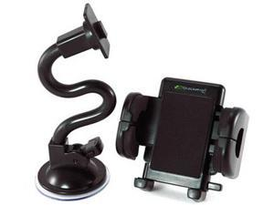 Magellan Universal Grip-iT Windshield Mount Goose Neck Bracketron PHW-203-BL New