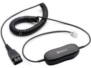 Jabra GN1200 7-ft Coiled Smart Cord W/ Eight Separate Wire Schemes