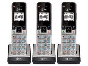 AT&T TL90073 Extra Handset / Charger 3 Pack Full Duplex Handset SpeakerPhone