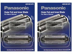 Panasonic WES9013PC Replacement Foil / Blade Combo For ES8103S / ES-GA21S / ES8109S / ESLT71S (2 Pack)