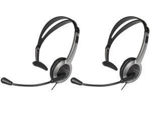 Panasonic KX-TCA430 (2-Pack) Panasonic Foldable Over the Head Headset
