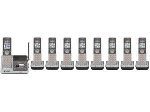 AT&T CL82501 + 4 CL80101 Digital Expandable 9 Handset Cordless Speakerphone New