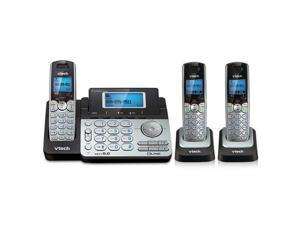 Vtech DS6151 + (2) DS6101 2 Line Expandable cordless phone