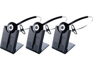 Jabra PRO 920 Mono Wireless Headset DECT 6.0 Tech w/ Noise-Canceling Microphone (3 Pack)