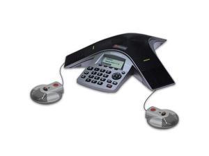 Polycom 2200-19000-001 w/ EX Mics SoundStation Duo Dual Mode Conference Phone