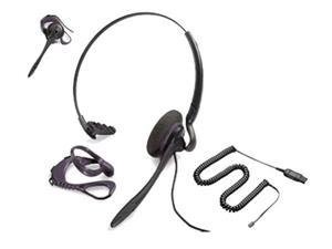 Plantronics Polaris DuoSet P141N-U10P Dual Earpiece Headset (H141N + Polaris Adapter)