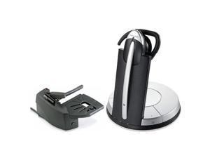 Jabra GN9350e DSP Mono Headset & Lifter w/ PeakStop Tech & Noise Canceling Microphone