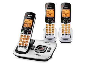 Uniden D1780-3 DECT 6.0 3 Handset Cordless Phone w/ Digital Answering System New