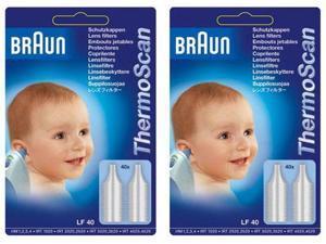 Braun LF40_X2 Braun LF40 Thermoscan Lens Filters