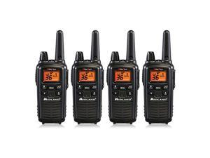 Midland LXT600VP3 Two Way Radio Value Pack W/ 30 Mile Range (4 Pack) New