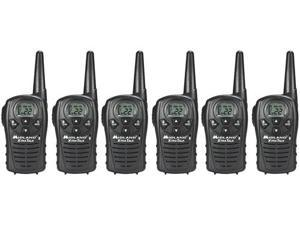 Midland Xtra Talk LXT118 Two Way Radio / Walkie Talkie 18 Mile GMRS 6 Pack New