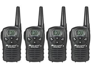 Midland LXT118 (4 Pack) Two Way Radio / Walkie Talkie
