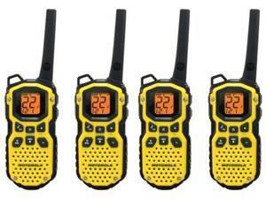 Motorola MS350R Talkabout Two Way Radio / Walkie Talkie Upto 35 Mile Range 4 Pk