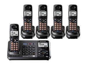 Panasonic KX-TG9382T + (3) KX-TGA939 2-Line  Cordless Phone w/ Extra Handset