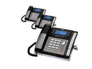 RCA ViSYS 25424RE1 (3-Pack) RCA 4-Line EXP Speakerphone w/ CID