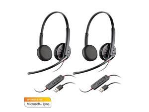 Plantronics Blackwire C325-M (2-pack) Stereo Corded Headset