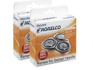 Norelco HQ55 / HQ56 (2-Pack) Replacement Heads