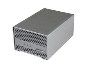 StarTech UX4274S StarTech.com Dual Bay External 2.5-Inch HDD/SSD Aluminum Thunderbolt Hard Drive Enclosure with Thunderbolt Cable and Built-In Fan