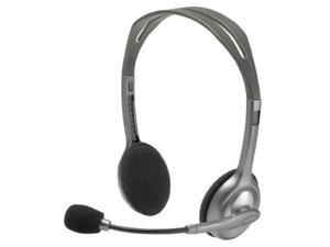 Logitech DA4536S Stereo Mini-phone Wired Over-the-head Binaural Noise Cancelling H110 Headset - 20 Hz-20 kHz