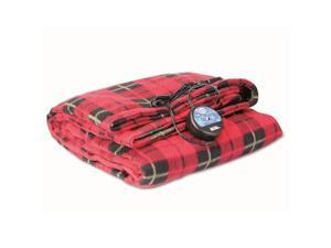 MAXSA Innovations MXS-20014M Comfy Cruise 12V Heated Plaid Blanket
