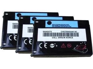 Motorola Bat-SNN5570 (3 Pack) Motorola Cell Phone Battery
