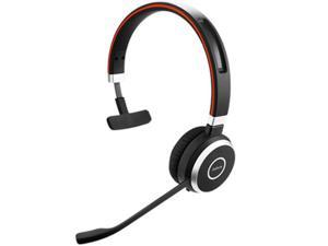 Jabra Evolve 65 MS Mono Stereo Headset Optimized For MS Lync W/ Integrated Busy Light