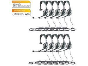 Jabra Voice 150 Mono MS Optimized For Microsoft Office Communicator 2010 (10-Pack)