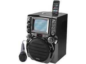 Karaoke USA JSKGQ752B Karaoke USA GQ752 Karaoke System