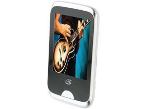 GPX GPXMT863SW GPX 8GB MP3-Video Player wFM Radio