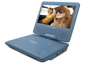 SYLVANIA CURSDVD7014BLB Sylvania Sdvd7014 Blue 7 Portable Dvd Player