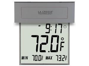 La Crosse Technology LCR306605G La Crosse Technology 306-605 Solar Window Outdoor Thermometer