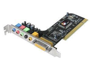 SIIG V24172B SIIG SoundWave 5.1 PCI Sound Card IC-510012-S2