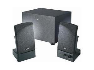 cyber acoustics J77654B Cyber Acoustics Oem 3 Pc Subwoofer System