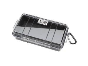 pelican V32635 S Pelican 1060 Micro Dry Case with Clear Lid - Black