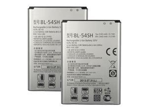 New Replacement Battery for LG G3 S Dual ( 2 Pack )
